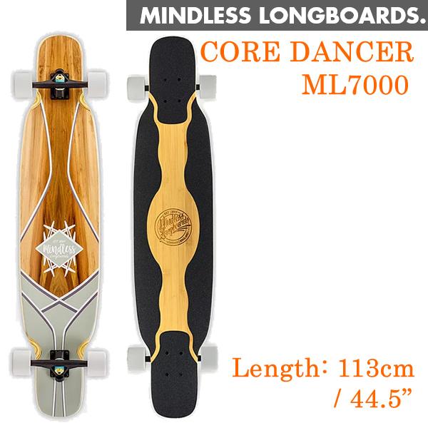 ロングスケートボード MINDLESS LONGBOARDS マインドレス CORE DANCER コアダンサー FREESTYLE DANCE コンプリート ロンスケ スケボー【L1】【s2】