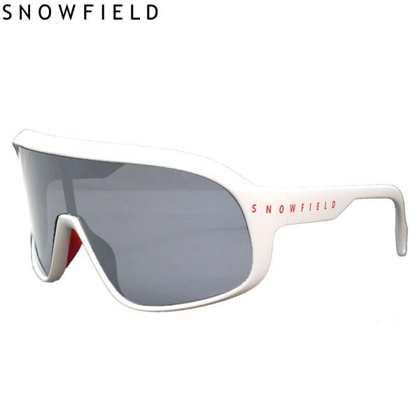 SNOWFIELD スノーフィールド サングラス F3 SNOWFIELD マットホワイト MAW 偏光シルバーミラー 山本光学製 偏光サングラス スキー&スノーボード 釣り 【コンパクト便可能】【C1】【s7】