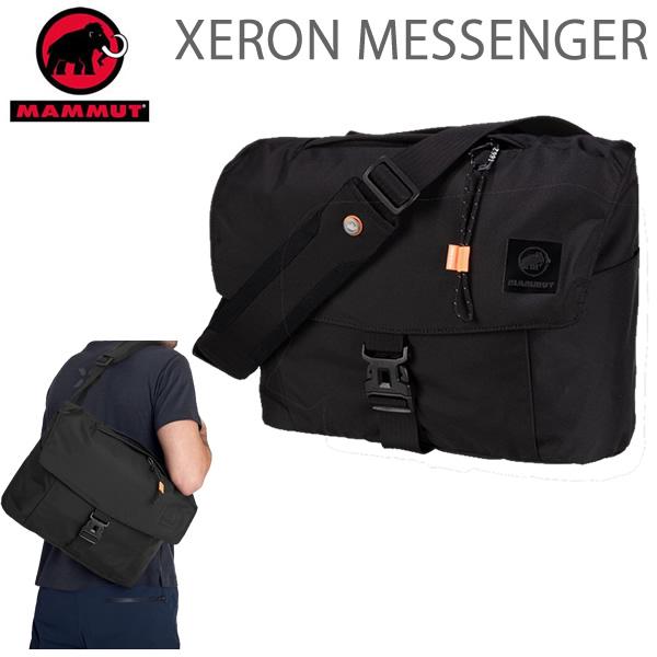 マムート リュック メッセンジャー MAMMUT XERON MESSENGER 14L ゼロン / BLACK 0001 バックパック  2810-00170  マムート バッグ