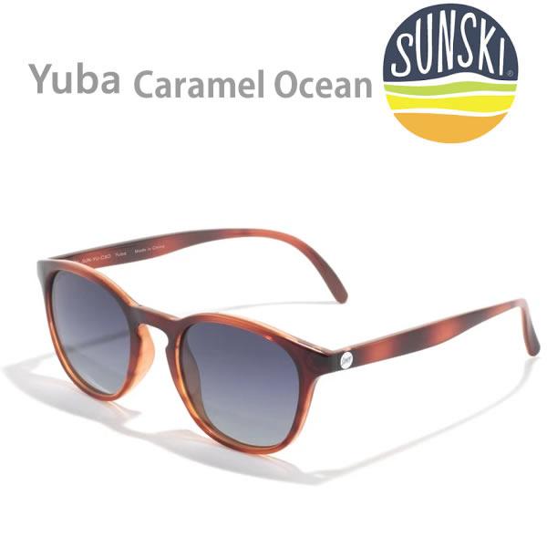 最新号掲載アイテム 雪山 キャンプ サーフィン 年中使える逸品 サンスキー サングラス 偏光 Yubas sunski K1 大注目 偏光サングラス SUN-YU-CAO Polarized Ocean Caramel