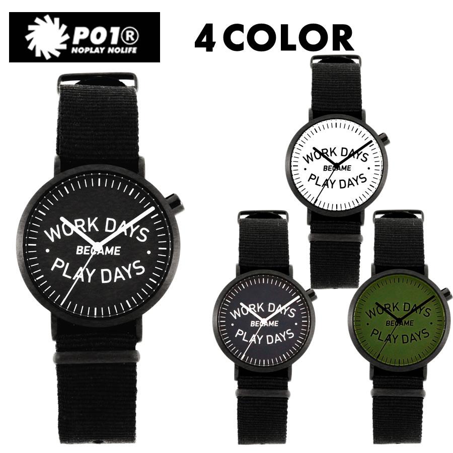 PLAY DESIGN プレイデザイン / P01TIME / WDBPD ANALOG / 4カラー展開  【リストウォッチ・腕時計】【s2】