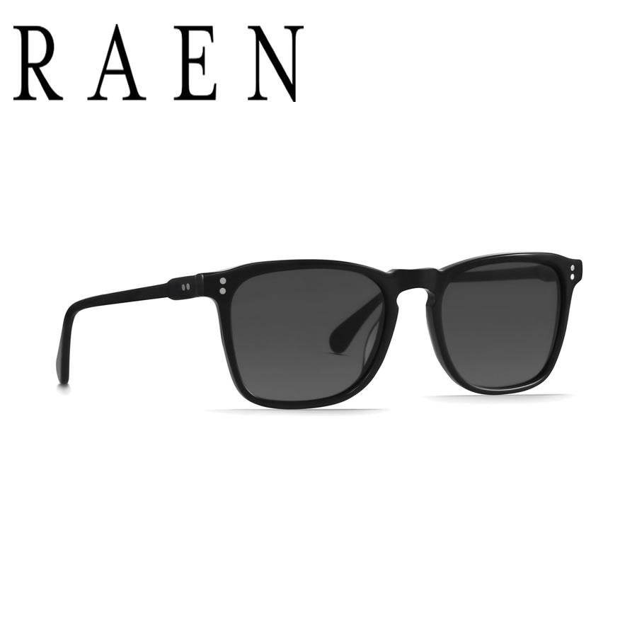 [国内正規品/送料無料] RAEN Optics レーン レイン サングラス / WILEY - BLACK x SMOKE / 正規代理店/ 100M161WLY / 送料無料 RAENのサングラス メンズ レディース UVカット かわいい 【t75】【s2】