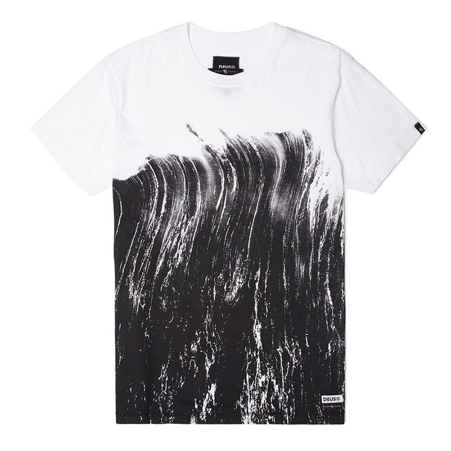 [正規品 無料ラッピング可]DEUS EX MACHINA ( デウスエクスマキナ ) Tシャツ / BRUSHES TEE - WHITE / DMP71509B / メンズ 半袖 送料無料  デウス エクス マキナ DEUSのTシャツ 【t79】【s2】