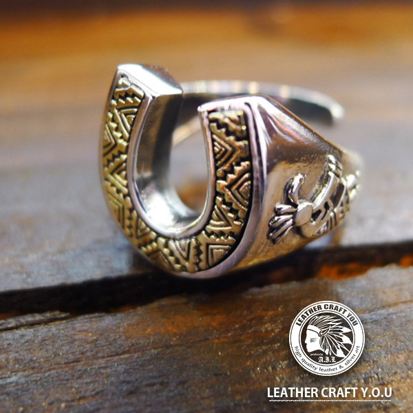 シルバーリング/指輪/シルバー925/ブラス/真鍮/ゴシックスタイル/リング/フリーサイズ/ring-19087