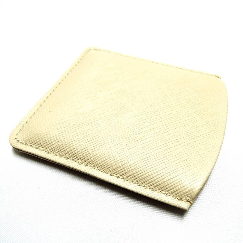 MIKIMOTO ミキモト 革製オリジナルミラーベージュ系 ブラウン系 FSuPXkZi