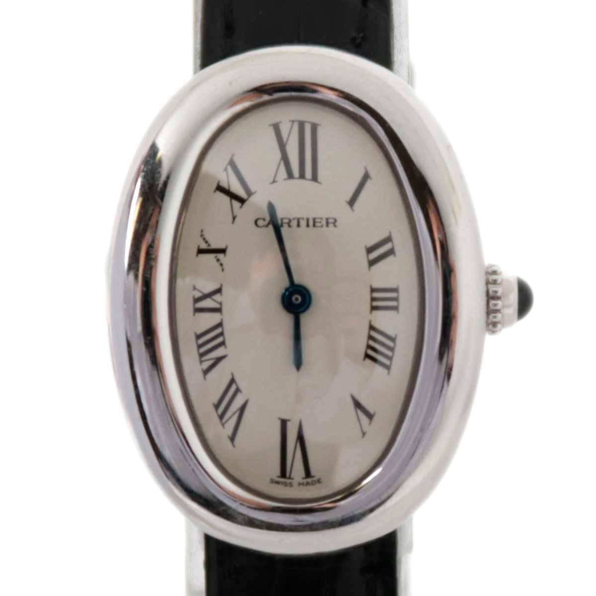 【中古】 Cartier/カルティエ 18金 ベニュワール クオーツ レディース腕時計 ES Bランク