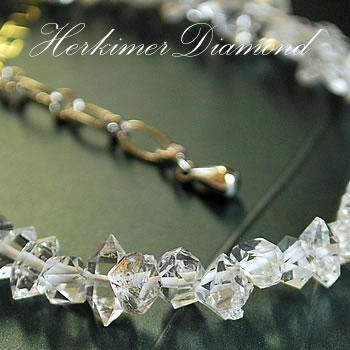 【超希少】[ニューヨーク州] ハーキマーダイヤモンド 結晶 ブレスレット 天然石 パワーストーン ハーキマーダイヤモンド 天然石ブレスレット パワーストーンブレスレット 天然石 パワーストーン ブレスレット ハーキマーダイアモンド 白水晶