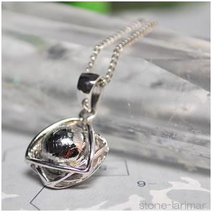 ギベオン隕石(メテオライト) (シルバー925)ヘキサゴン<天然石ペンダントトップ/ネックレス・パワーストーン>六芒星