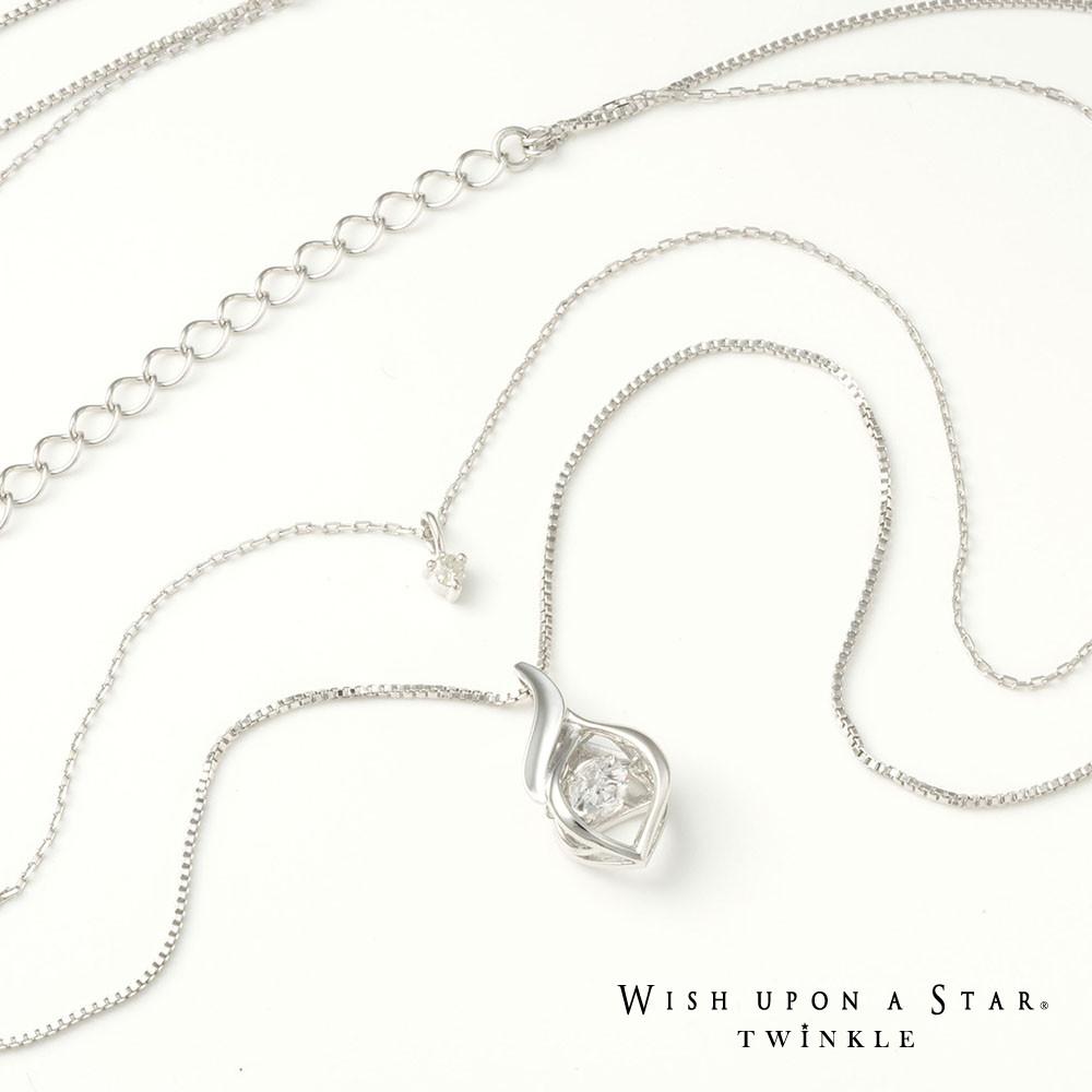 ネックレス 付与 シルバー キュービックジルコニア セール商品 Wish upon a Twinkle star x シルバー925しずくクロスデザインネックレス Dancingstone