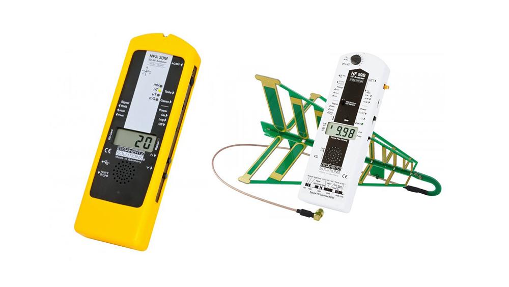 ★低周波測定器:NFA30M+高周波測定器:HF59B★<<測定器セット J1電磁波/電磁波対策/電磁波カット/電磁波防止/電磁波過敏症