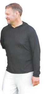 ★黒色 電磁波シールドパーカー★男女兼用 MS301P電磁波/電磁波対策/電磁波カット/電磁波防止/電磁波過敏症