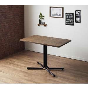 ダイニングテーブル 幅100 単品 幅100×奥行60×高さ67cm ヴィンテージ風 ブラックスチール ダイニング テーブルダイニング カフェテーブル リビングテーブル 机 食卓テーブル 食事テーブル おしゃれ リビングダイニングテーブル 夫婦 カップル 新婚 新築