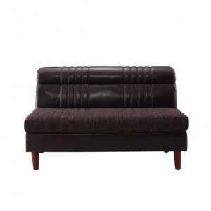 ダイニングソファ バックレストソファ 2人掛け 単品 幅119×奥行71×高さ71(座面高42)cm ヴィンテージ風 2人がけ 2人用 二人掛け ダイニング ソファ ダイニングソファー ソファ ソファー 椅子 ダークブラウン