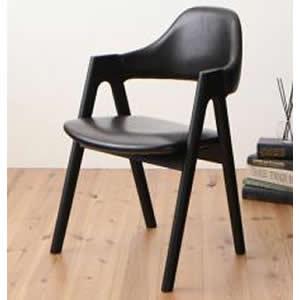 ダイニングチェア 2脚組 幅52×奥行57×高さ80(座面高43)cm ダイニングチェアのみ 食卓イス ダイニングチェアー 食卓椅子 チェア いす 椅子 木製チェア 木製チェアー ダイニング椅子 ダイニングいす 天然木 合成皮革 PUレザー