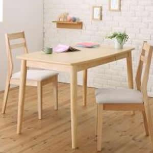 ダイニングテーブルセット 3点セット (テーブル幅115+チェア2脚) ダイニングセット 4人掛け 4人用 四人掛け ダイニングテーブル ダイニング ダイニングチェア 食卓椅子 食事椅子 椅子 イス チェア いす カップル 夫婦 新婚 家族 ファミリー