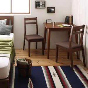 ダイニングテーブルセット 3点セット (テーブル幅75+チェア2脚) ダイニングセット 2人がけ 2人掛け 2人用 二人掛け ダイニングテーブル ダイニング ダイニングチェア 食卓椅子 食事椅子 椅子 イス チェア いす カップル 夫婦 新婚 家族 ファミリー