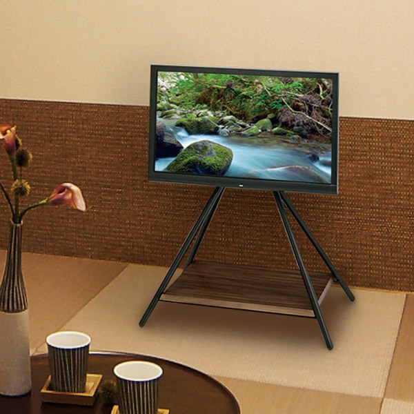 【送料無料】 スタンドテレビ台 テレビ台 スリム テレビ台 テレビボード 木製 鉄製 TV台 TVボード テレビラック ローボード シンプル AVボード 32インチ