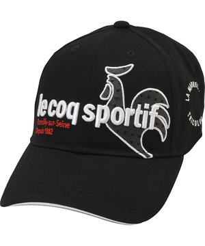 限定タイムセール ルコック キャップ 帽子 ゴルフキャップ 公式 ルコックスポルティフ ゴルフ QGBQJC00 小物 国産品 コットンツイルキャップ スポーツ メンズ アクセサリー