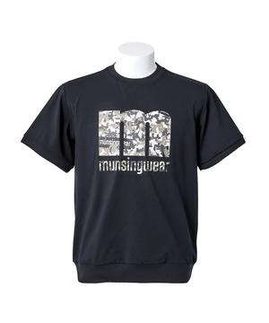 マンシング  【公式】マンシングウェア 【 ENVOY / エンボイ 】mロゴ半袖クルージャージ メンズ ウェア ジャージ スウェット ゴルフ スポーツ MEMQJL52