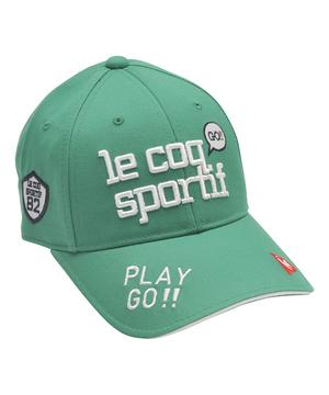 ルコック キャップ 帽子 ゴルフキャップ 公式 注目商品;今だけ10%OFF 正規認証品!新規格 ルコックスポルティフ レディース スポーツ ゴルフ アクセサリー ボウシ QGCPJC00 宅送 小物