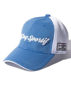 ルコック キャップ 帽子 ゴルフキャップ 公式 ルコックスポルティフ ゴルフ QGBRJC11 フロントボーダー柄涼感キャップ 小物 出群 スポーツ 受賞店 メンズ アクセサリー