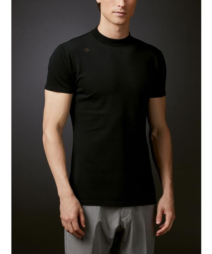 ポロ 【公式】デサントゴルフ プレーティング天竺モックネックシャツ メンズ ウェア シャツ ポロシャツ ゴルフ ゴルフウェア スポーツ DGMSJA02