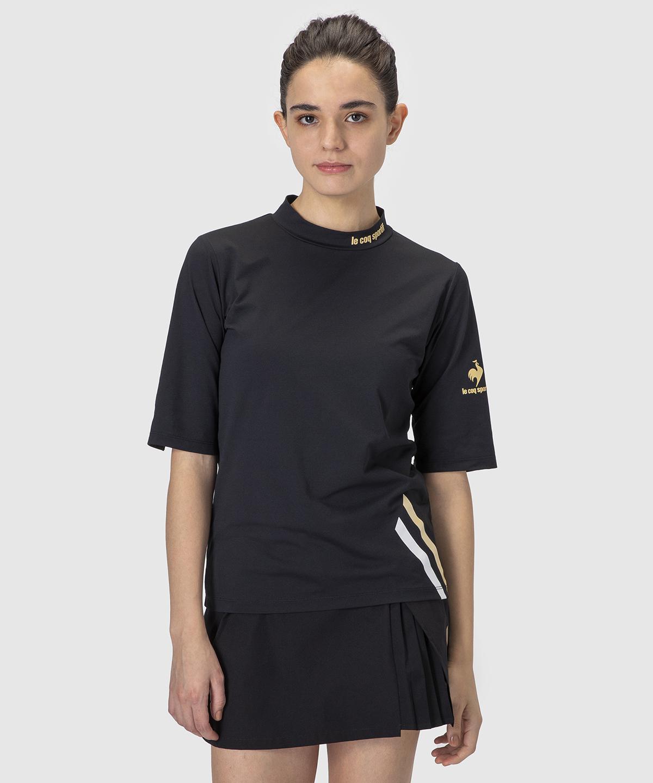 ルコック 半袖 テニスウェア 公式 ルコックスポルティフ 商舗 半袖シャツ ウェア 至上 レディース スポーツウェア tシャツ QTWSJA01 テニス