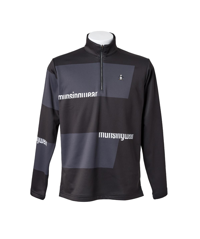 スポーツウェア マンシング アウトレット 公式 マンシングウェア ENVOY エンボイ パネルビッグボーダージップシャツ メンズ ポロシャツ スポーツ ゴルフ MEMQJB06 ウェア シャツ 送料無料新品 SALE ヒートナビ