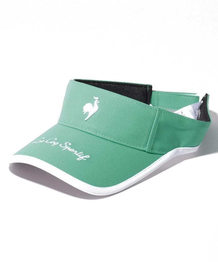 ルコック レディース ゴルフ 公式 ルコックスポルティフ ゴルファーズサンバイザー アクセサリー 低廉 スポーツウェア お値打ち価格で 帽子 QGCSJC50W キャップ 小物 ゴルフウェア