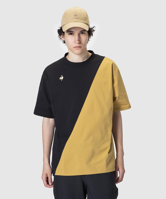 ルコック 公式 ルコックスポルティフ 爆売りセール開催中 ハーフスリーブシャツ メンズ ウェア スポーツ QMMSJA01 ライフスタイル カジュアル お買い得 tシャツ ムーブウェア
