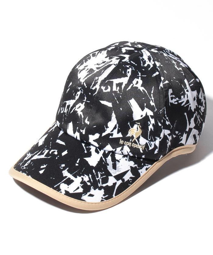 ルコック テニス 信用 超人気 公式 ルコックスポルティフ テニスキャップ メンズ アクセサリー キャップ スポーツウェア テニスウェア 帽子 小物 QTBSJC53