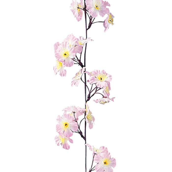 送料無料 桜 ガーランド 造花 店舗ディスプレイ ガーランド 桜 3本壁面や商品棚に這わせたり吊るしたりして、カンタン春装飾!桜 ガーランド 造花 店舗ディスプレイ