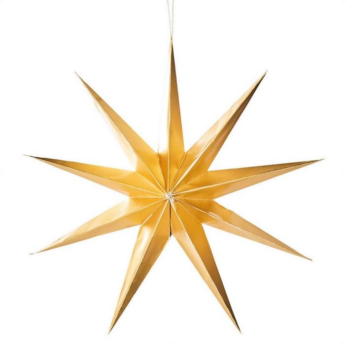 クリスマス 飾り クリスマス雑貨  ポイントスターハンガー 大 ゴールド 1個クリスマス 飾り クリスマス雑貨