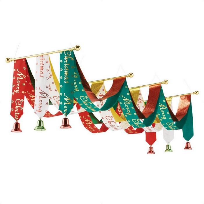 クリスマス 飾り クリスマス雑貨  トリコロール3連ペナント 1枚クリスマス 飾り クリスマス雑貨