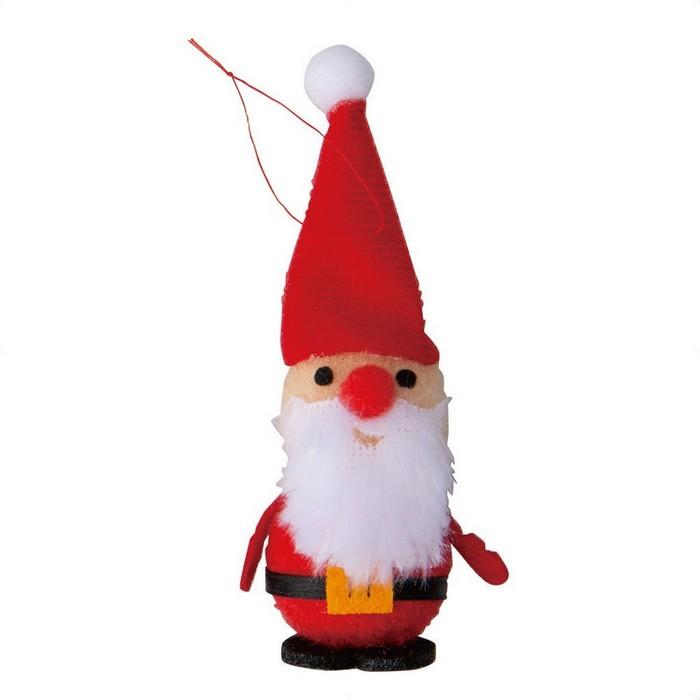 かわいいアクセントにクリスマス コスプレ  ふわふわクリップ サンタ3個クリスマス コスプレ