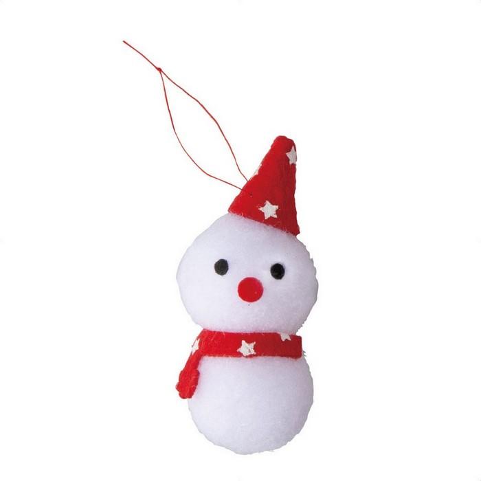 かわいいアクセントにクリスマス コスプレ ふわふわクリップ 好評受付中 スノーマン3個クリスマス 即出荷
