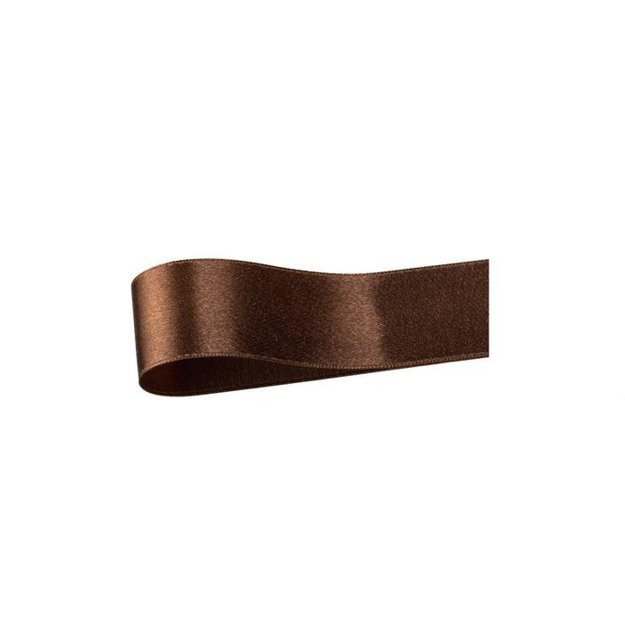 低価格で大人気のサテンリボンクリスマス  サテンリボン ブラウン 19mm幅×20mクリスマス