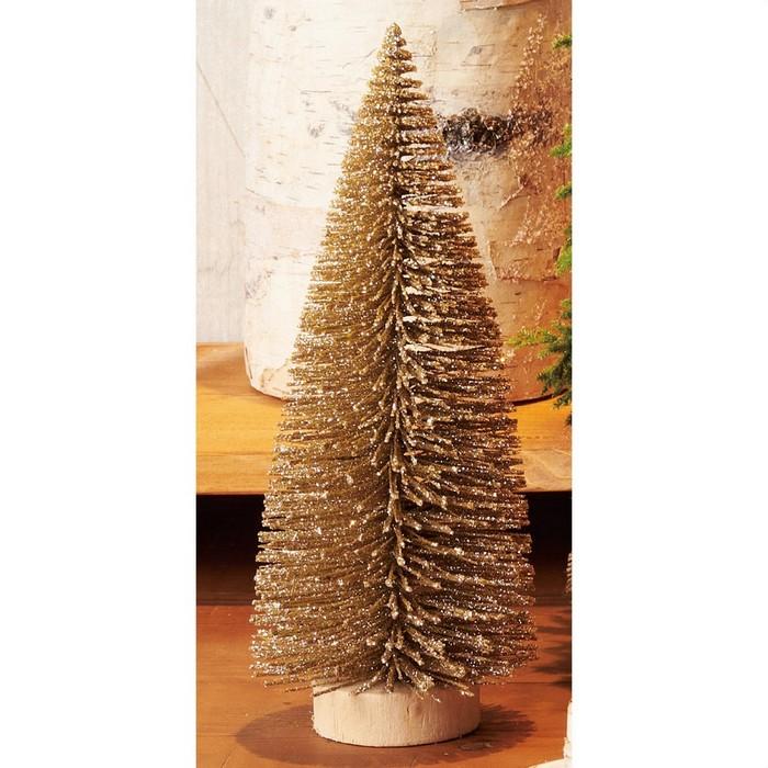 ちょこんと並べるだけでもかわいい!シンプルな卓上ヌードツリークリスマスツリー 卓上  クリスマスツリー クリスマス おしゃれ オーナメント 北欧 卓上 小さい 飾り 送料無料 ミニツリー ゴールド 1個
