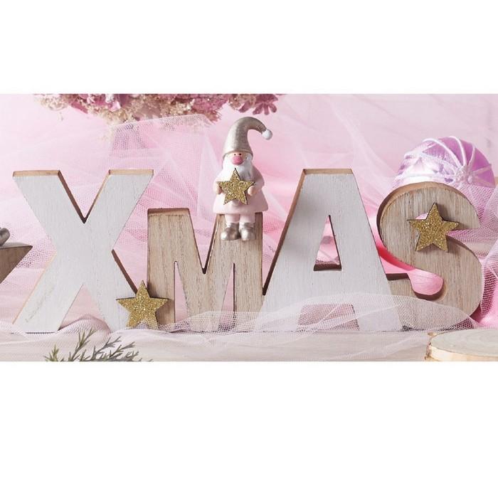 クリスマス ※ラッピング ※ 飾り おしゃれ クリスマス雑貨 ウッドオブジェ ついに入荷 XMASサンタ プレゼント オブジェ 1個クリスマス