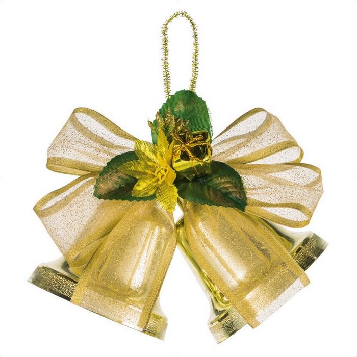 セール 登場から人気沸騰 クリスマス 飾り クリスマスツリー 祝日 オーナメント 1個クリスマス ゴールド ツインベルハンガー