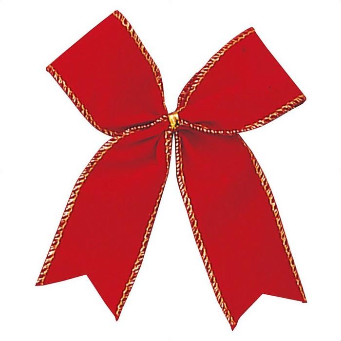 クリスマス 飾り クリスマスツリー オーナメント  レッドリボン W10×H10cm 12個クリスマス 飾り クリスマスツリー オーナメント