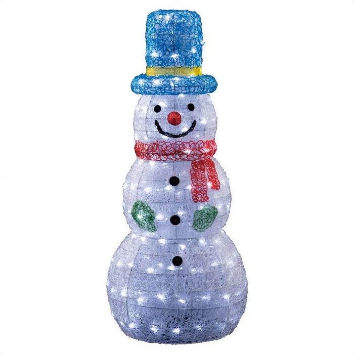LEDクリスタルモチーフ ビッグスノーマン 1台【クリスマス ライト】