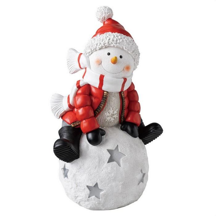 冬の人気者スノーマンがいっぱい!かわいい姿にお客さまもにっこり。クリスマス 飾り クリスマス雑貨  スノーボールスノーマンオブジェ 1台クリスマス 飾り クリスマス雑貨 オブジェ プレゼント