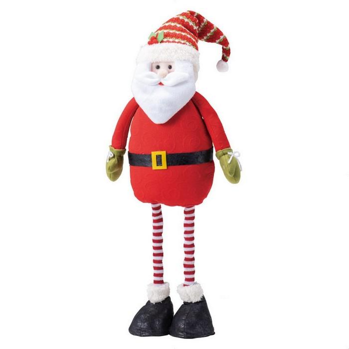 足が伸びるよクリスマス 飾り クリスマス雑貨  伸び縮みドール サンタ 1個クリスマス 飾り クリスマス雑貨 オブジェ プレゼント