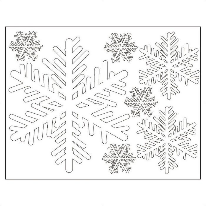 大小のスノーフレークで お店の中を冬色に 割引も実施中 クリスマス 飾り セットアップ ウインドウシールスノーフレーク 1セットクリスマス 窓