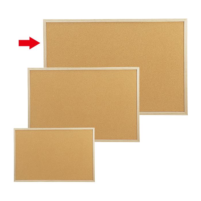 送料無料 コルク ボード 掲示板 壁面 (訳ありセール 格安) 木枠 メモボード 格安激安 ストア ポップ表示に最適です 両面 ピン穴が目立ちにくい エキスプレスオリジナル商品 コルクボード 90×60cmここでしか買えない