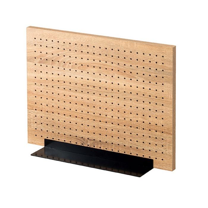 送料無料 有孔ボード ペグボード パンチングボード アクセサリー 収納 仕切板 卓上 両面有孔パネル S 60×45cm ラスティック柄【ここでしか買えない!ストア・エキスプレスオリジナル商品】パネルは2枚合わせになっているので表裏使用できます。有孔ボード ペグボード パンチングボード アクセサリー 収納 仕切板 卓上