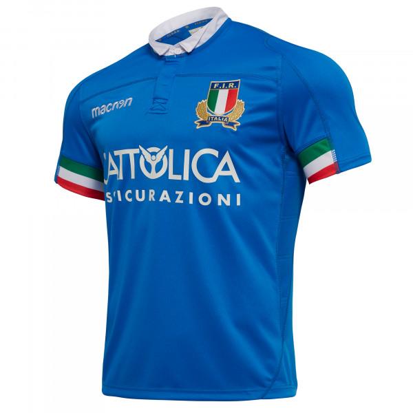 マクロン 18-19 FIR イタリア ラグビー ホーム レプリカジャージー / MACRON マクロン