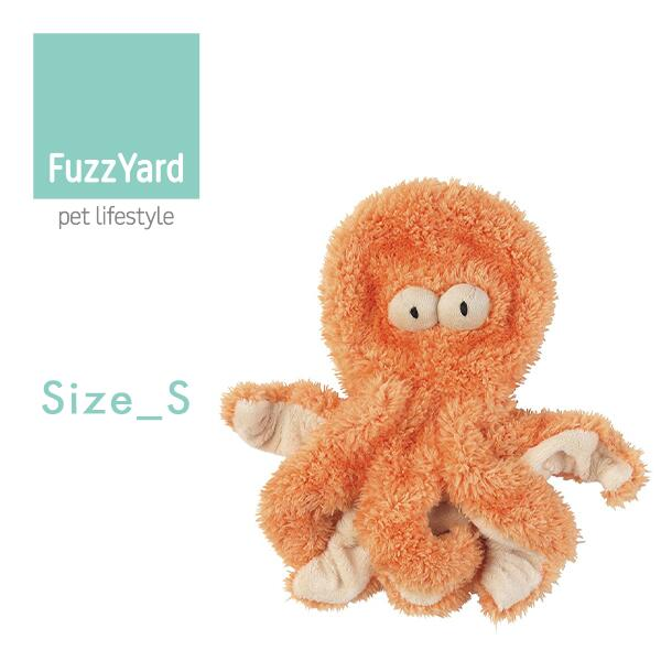 NEW!!【FuzzYardファズヤード】SIRLEGSALOT(たこ)SirレッグスSサイズ■あす楽■ぬいぐるみおもちゃ犬用ネコ用おしゃれ可愛いギフト