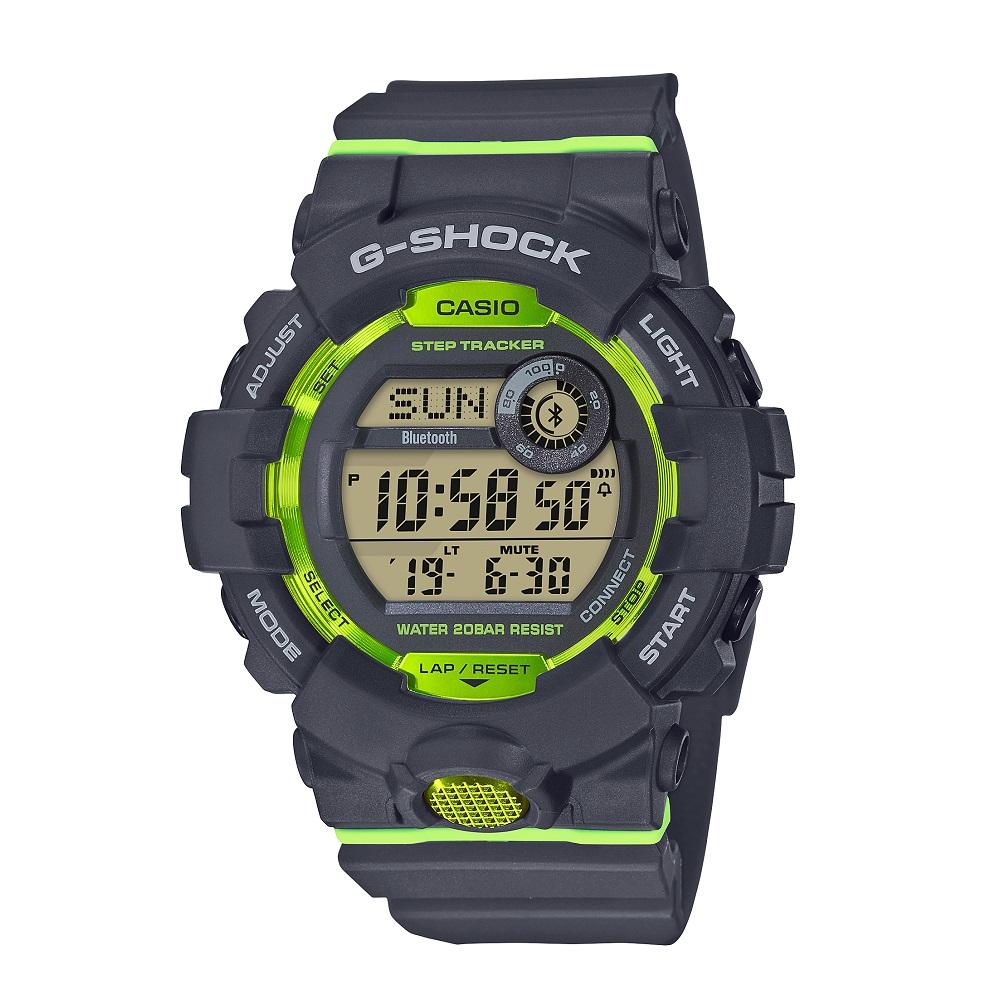 G-SHOCK Gショック GBD-800-8JF Bluetooth搭載 ~G-SQUAD~ 【安心の3年保証】